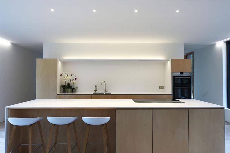 15 cozinhas minimalistas para voc que acha que menos