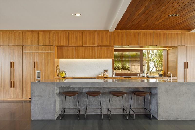 15 inspiraes de bancadas de concreto para cozinha e
