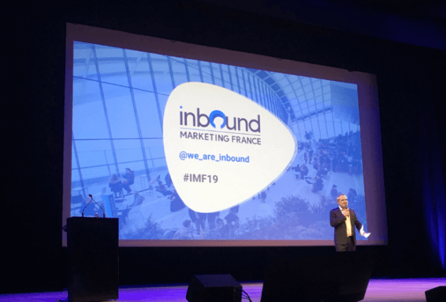 Inbound Marketing France 2019 - C'est parti