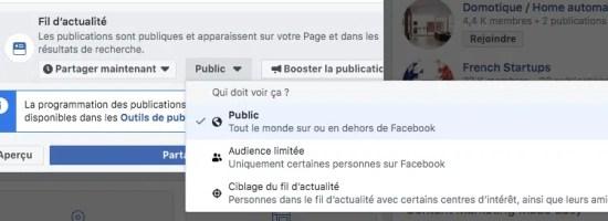 Bouton de Ciblage d'audience sur Facebook - Limber