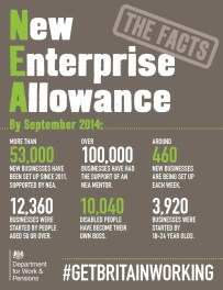 new enterprise allowance