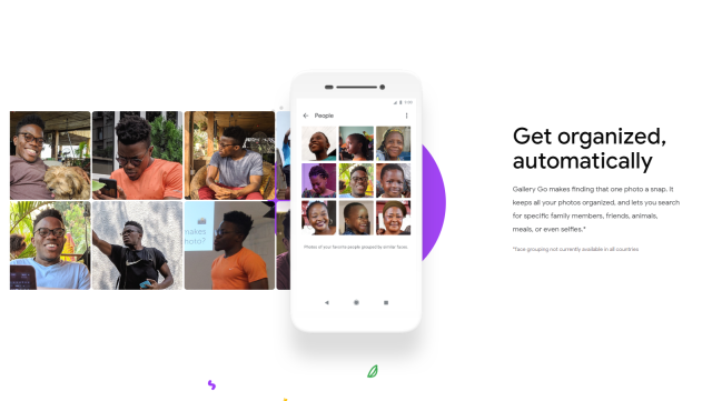 Image result for google  gallery go