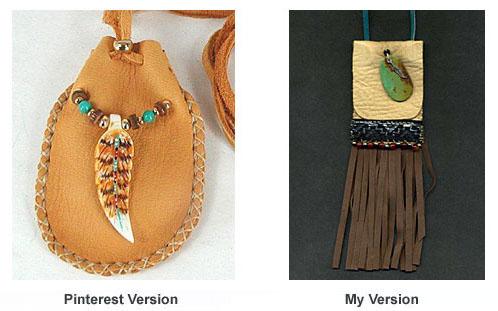Amulet pouches