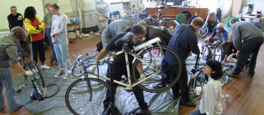 Bicycle Maintenance Workshop