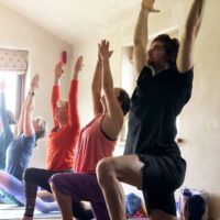 Lime House Yoga re-starting a home yoga practice
