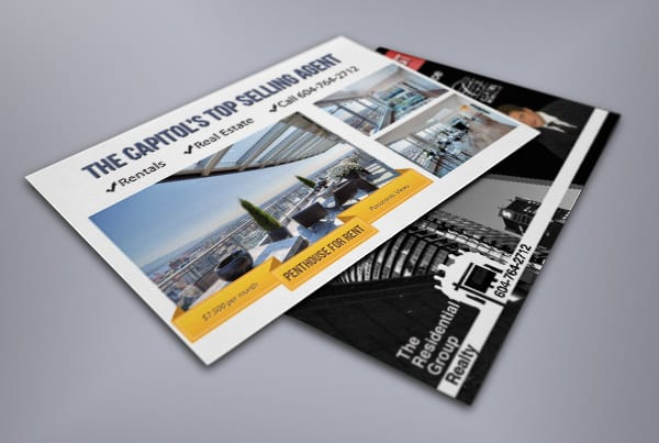 Direct Mail Design for a Vancouver Realtor