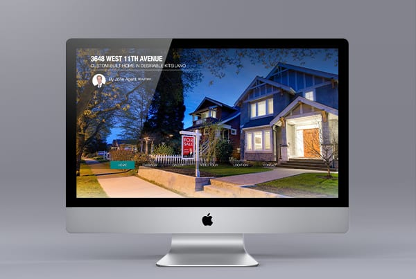 Single Property Listing Website – Powered by Ubertor