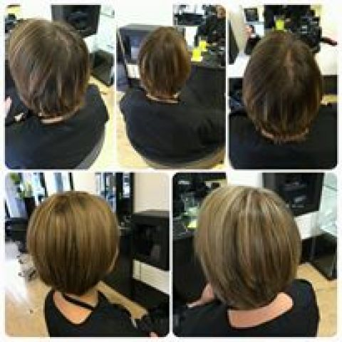 Made overall colour lighter by refreshing grown out highlights