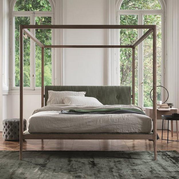 porada ziggy four poster bed