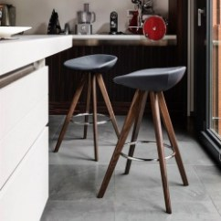 Kitchen Stools Touch Faucet Contemporary Bar And Calligaris Palm Stool Wood Legs