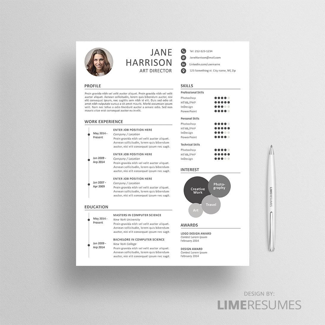 Buy Resume Template  Bijeefopijburgnl