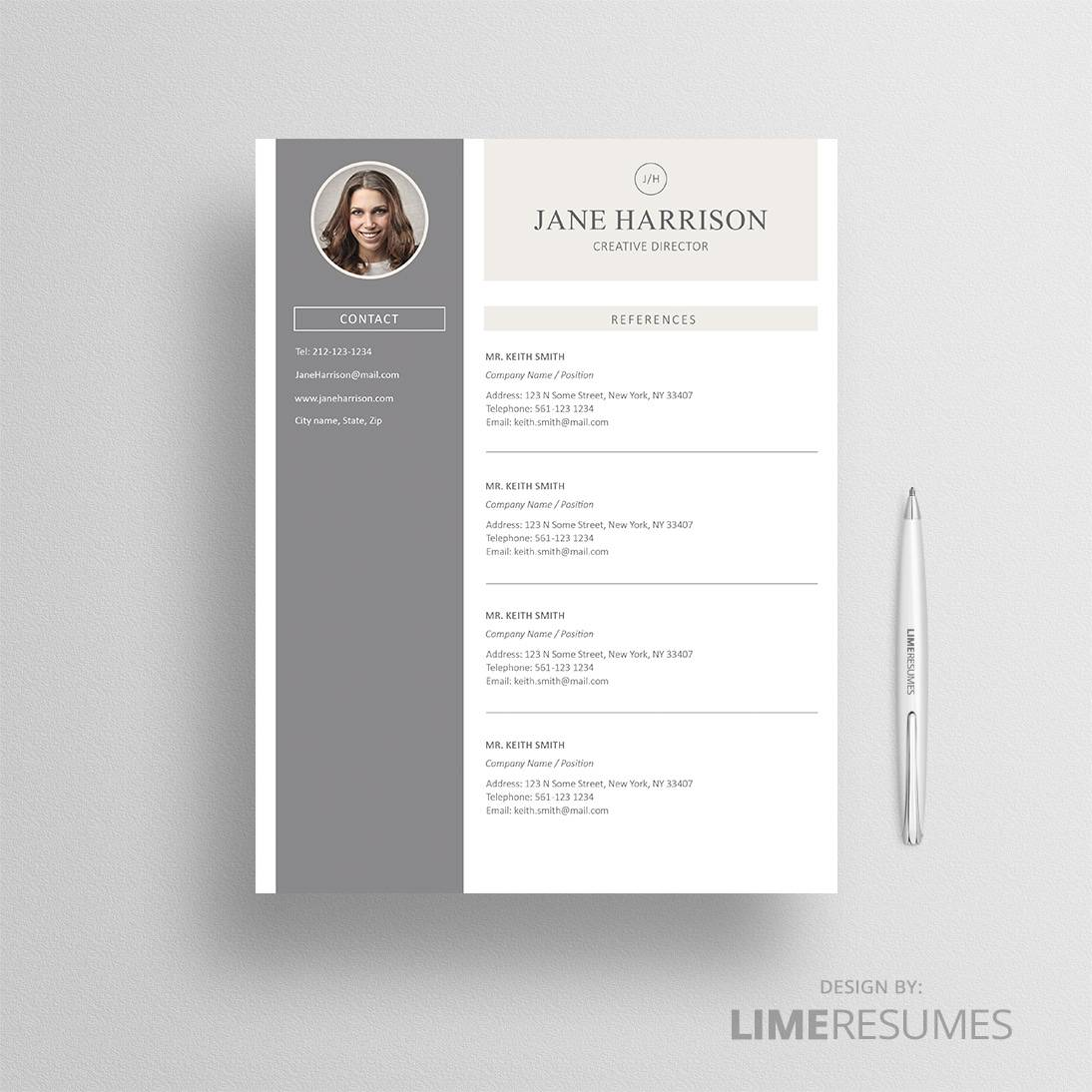 Resume With Photo Page Photo Resume Limeresumes