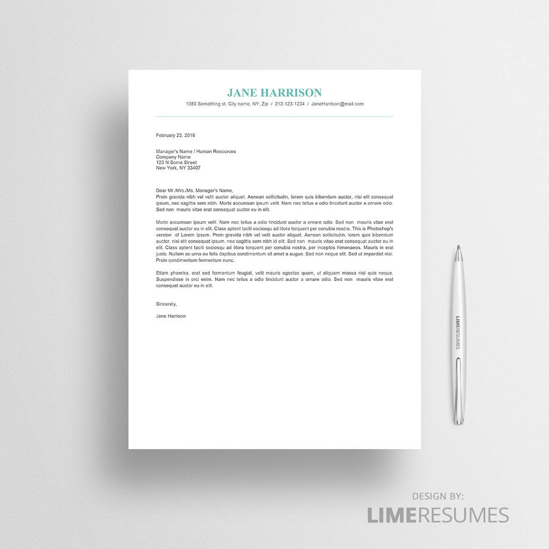 microsoft resume cover letter examples