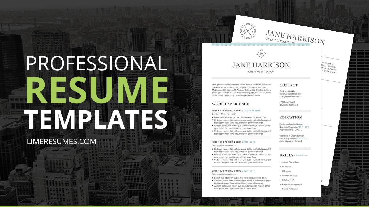 easy resume online