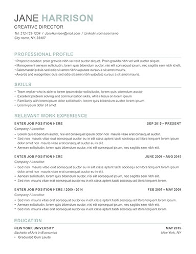 Resume Examples For Job Seekers In Any Industry LimeResumes