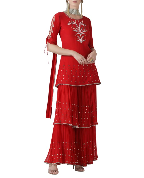 red-embroidered-sharara-set