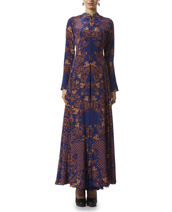 Printed Tunic with Palazzos