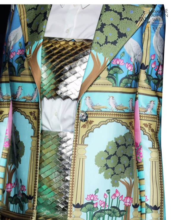 Limerick by Abirr n' Nanki Embroidered Bustier
