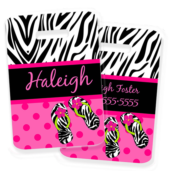 dot zebra personalized kids