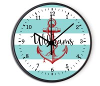 Custom Nautical Anchor Personalized Decorative Kitchen ...