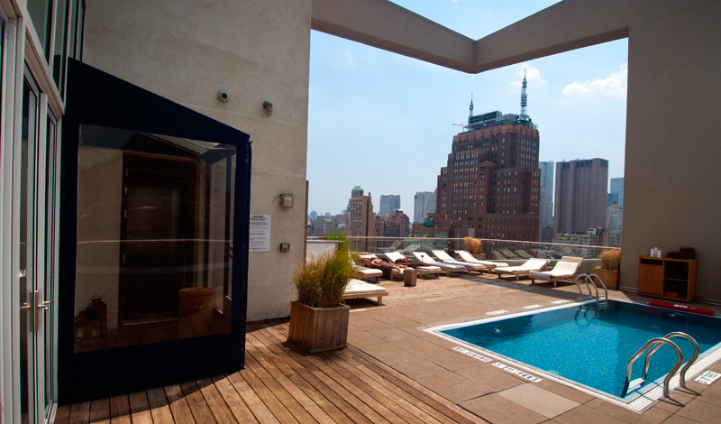 Rooftop Pool Hotels New York City