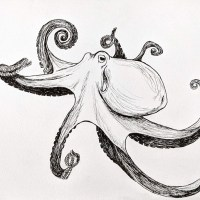 Octopus (Inktober 52 - 2021)