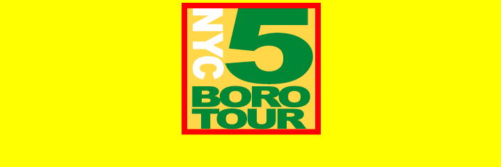 Web Design Case Study: NYC 5 Boro-Tour -- website design by LIMIT8 Design, New York