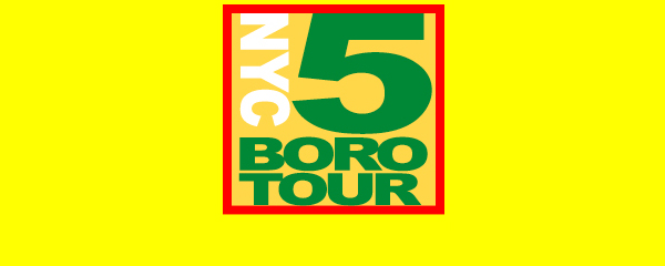 Web Design Case Study: NYC 5 Boro-Tour -- website design by LIMIT8 Design, New York