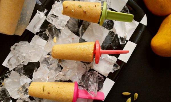 dairy free mango kulfi