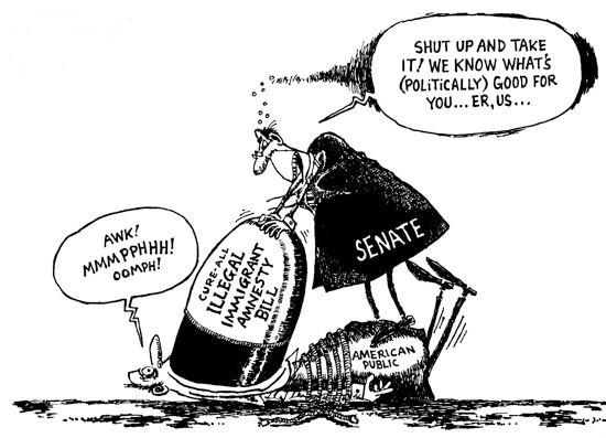 Senator Sessions Objects to Democrats Rushing Amnesty Bill