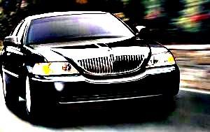 Picture of Shelton Limousine Service black sedan