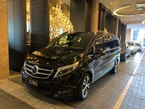 mercedes-benz v-class minivan chauffeur cars melbourne