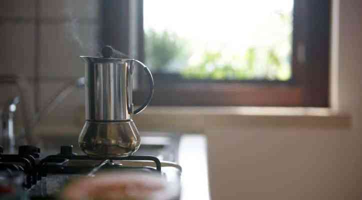 my favourite moka coffee pot