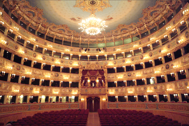 La Fenice today from teatrolafenice.it