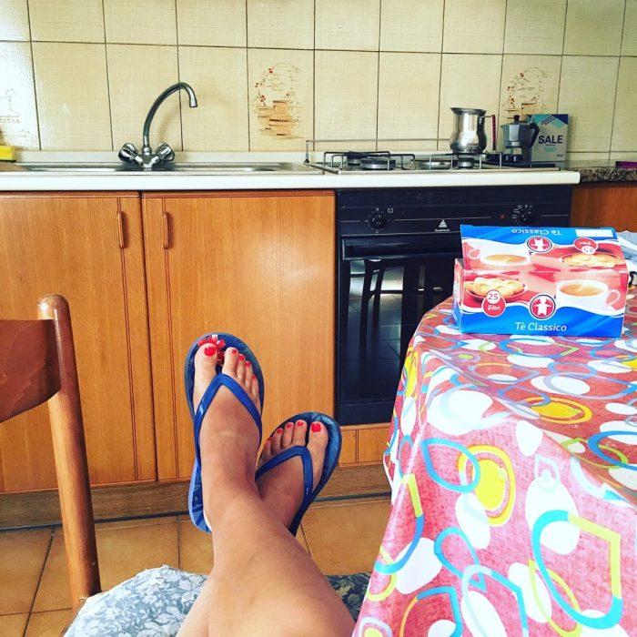 Moving to Ischia - Kitchen