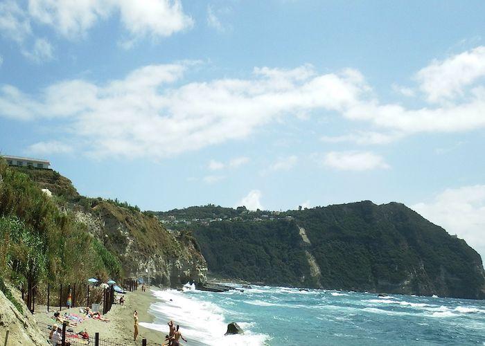 ischia beach holiday