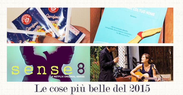 My best of 2015: Cinema, Beauty, Serie Tv, Cibo e Libri
