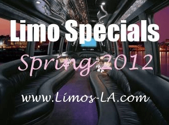 Limousine Specials Orange County & Southern California