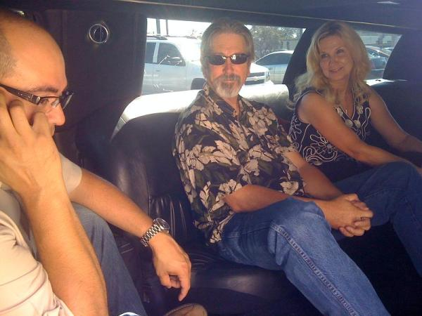 Limousine from Orange to Los Angeles for the Meatloaf Concert