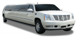 Orange County White Cadillac Escalade Limo
