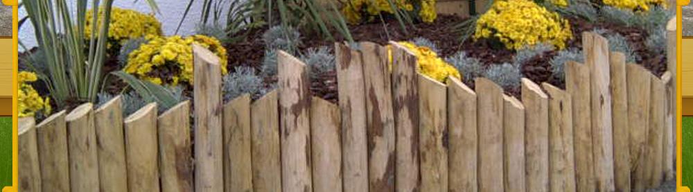cloture en bois piquets de cloture 87