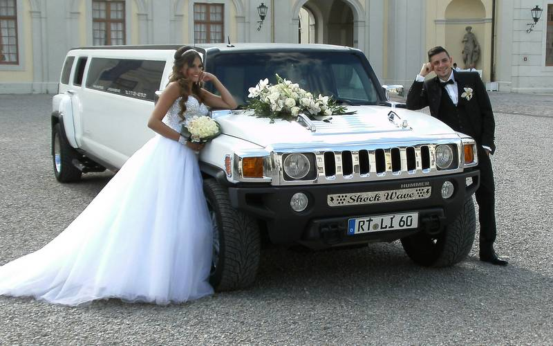 Hochzeitsauto mieten  zur Hochzeit mit der