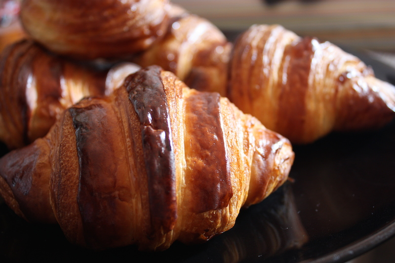 Croissant fait maison…mangiare un buon croissant fatto in casa