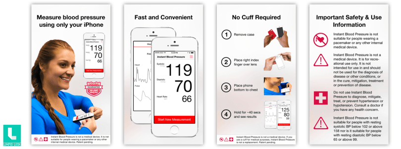 Instant Blood Pressure - Monitor Blood Pressure Using Only Your Phone By Aura Labs, Inc.