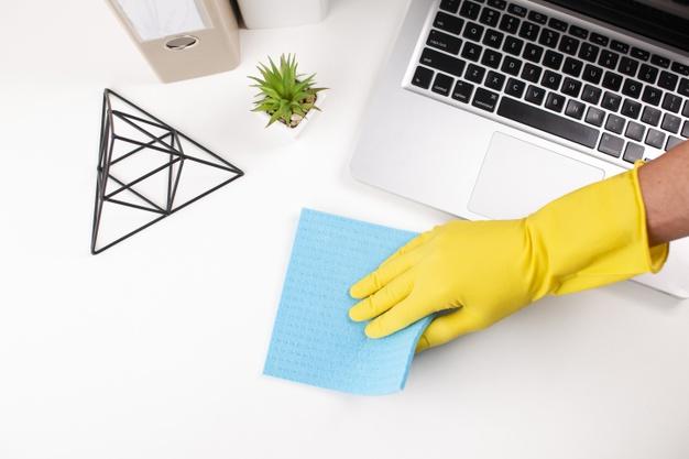 Cómo limpiar correctamente una oficina o despacho