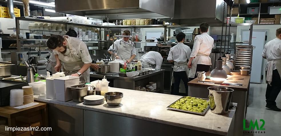 Limpieza de Restaurantes fases normas y productos