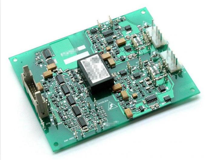 Circuit Board After Being Ultrasonically Cleaned