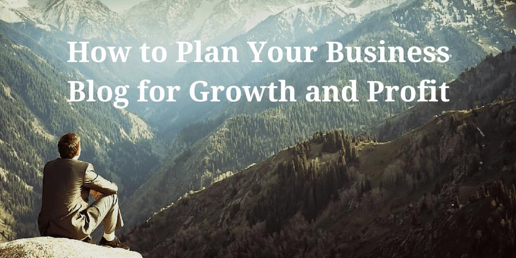 Business Blog Plan