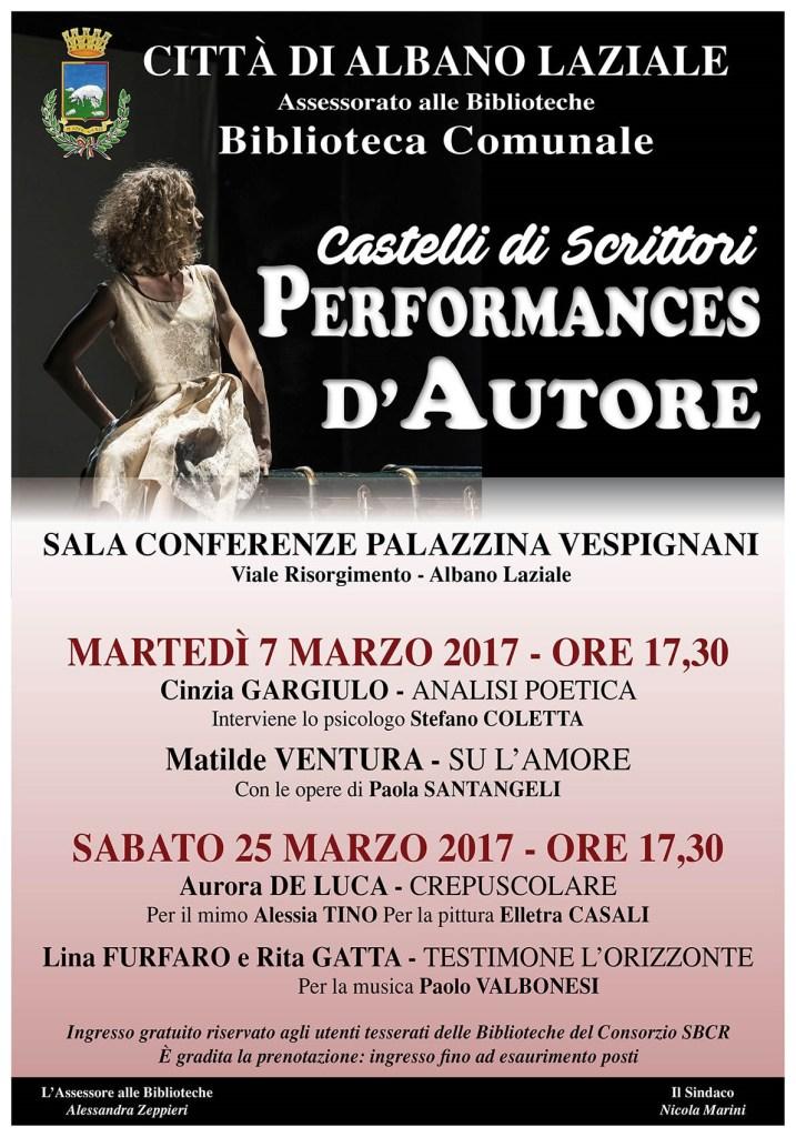 Musiche di Paolo Valbonesi