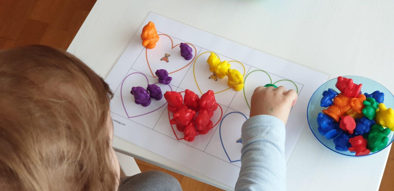 Apprendre les couleurs - diy kids